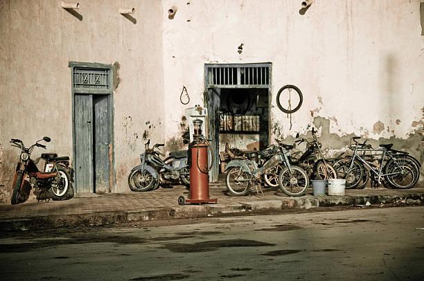 Gas station in Tunesien – Foto