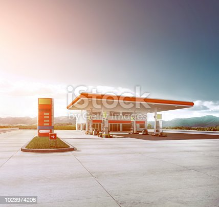 generic gas station