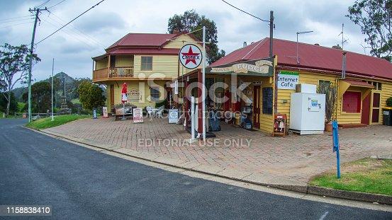 New South Wales, Australia - October 18, 2015 : A scene from Tilba Tilba a village near the Princes Highway in Eurobodalla Shire, New South Wales, Australia.