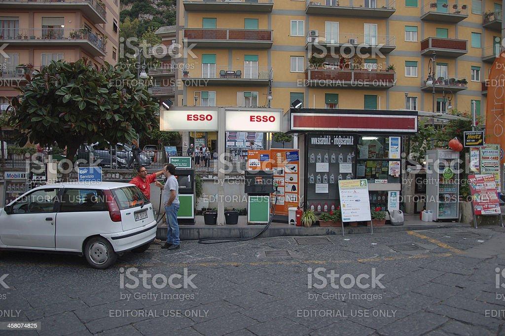 ESSO gas station stock photo