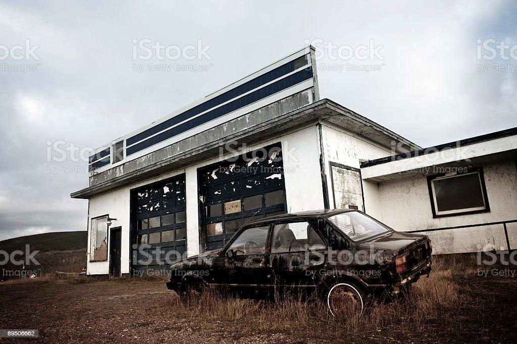 Gas Station 免版稅 stock photo