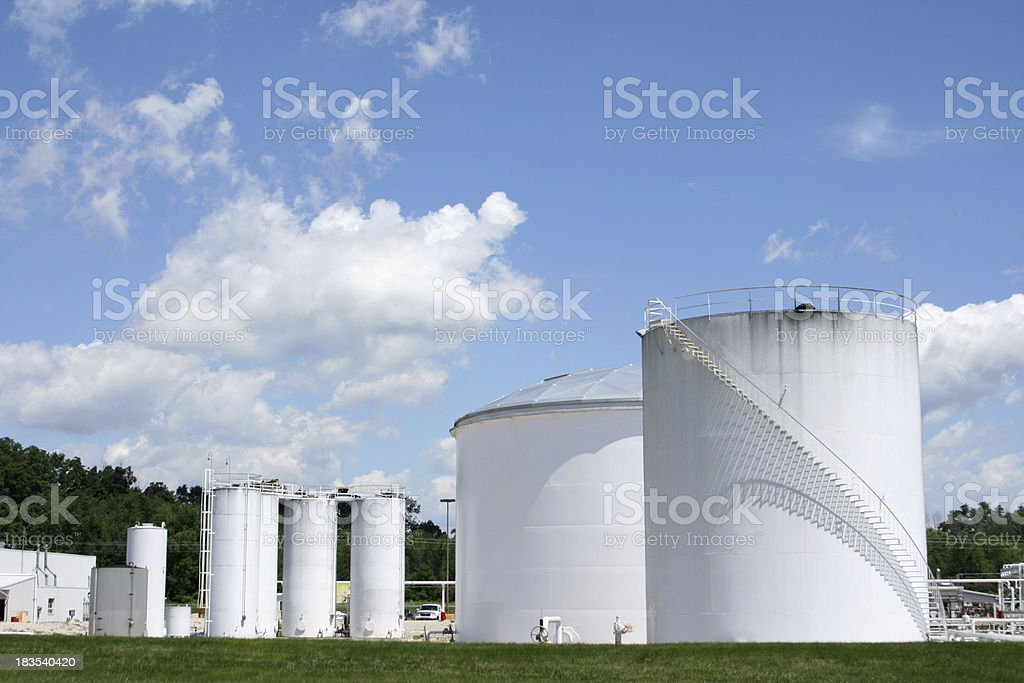 Gas Storage royalty-free stock photo