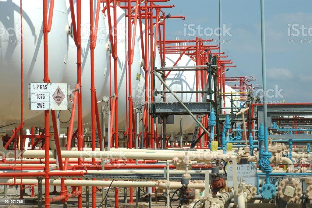 gas storage royalty-free stock photo