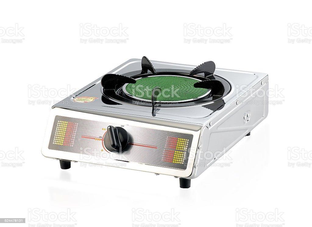 Cocinas De Gas Pequenas.Quemadores De Gas Para Pequenas Cocina Aislado En Blanco