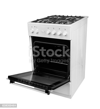 istock Gas stove isolated 638069464