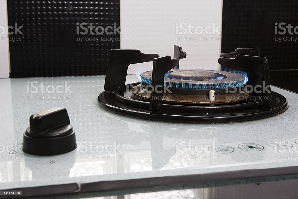 Gas Stove royalty-free stock photo