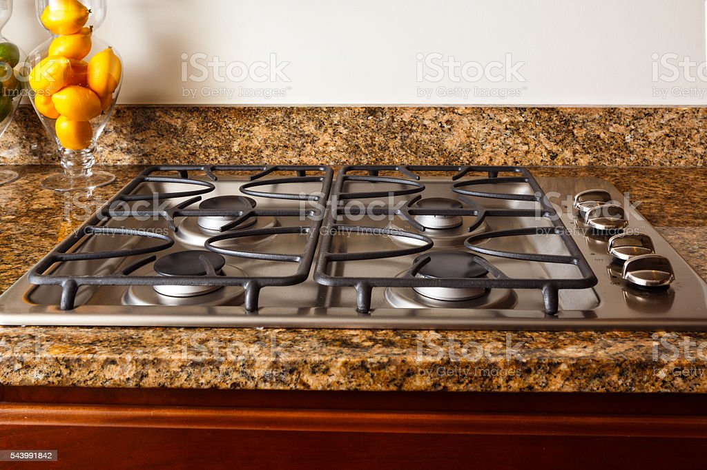 ... Gas Stove Top Stock Photo ...
