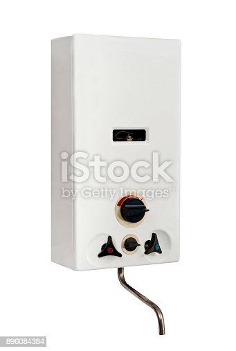 istock Gas water heater 896084384