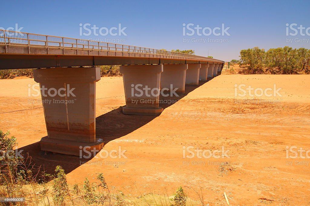 Gascoyne River, Carnarvon, Australia stock photo