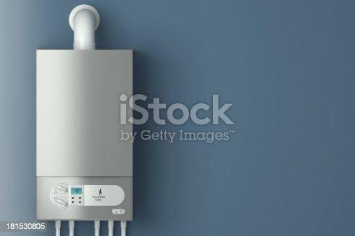 181530805istockphoto Gas-fired boiler. 181530805
