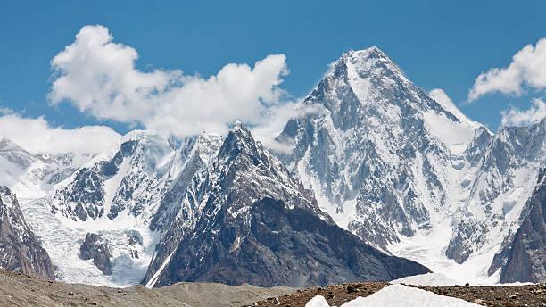 Gasherbrum IV, Karakorum, Pakistan stock photo