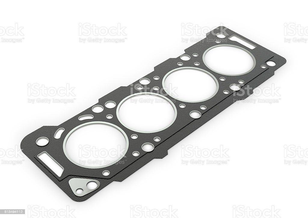 Gasket car engine cylinder head stock photo