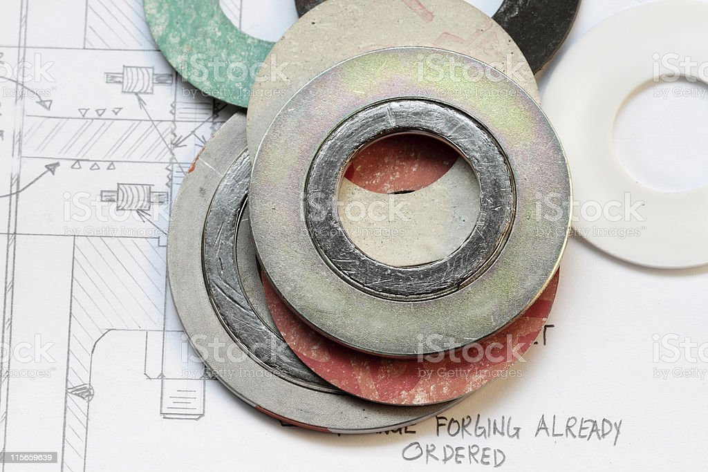 Gasket royalty-free stock photo