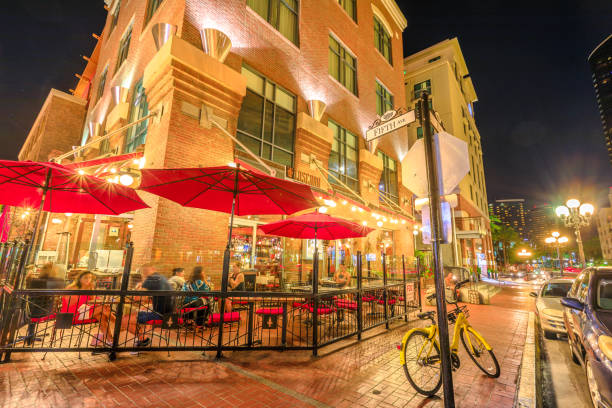 Gaslamp Quarter Fifth Avenue – Foto