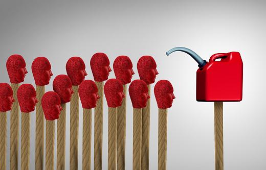 Gaslighting Stock Photo - Download Image Now