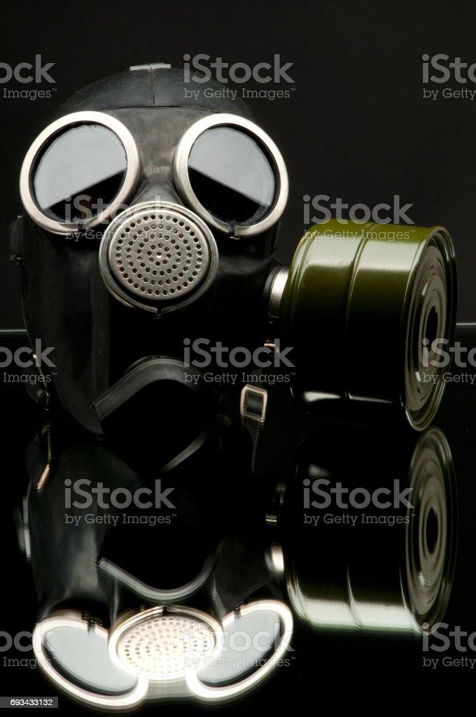 gas-mask stock photo