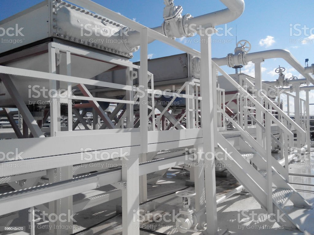Gasoline air coolers royalty-free stock photo