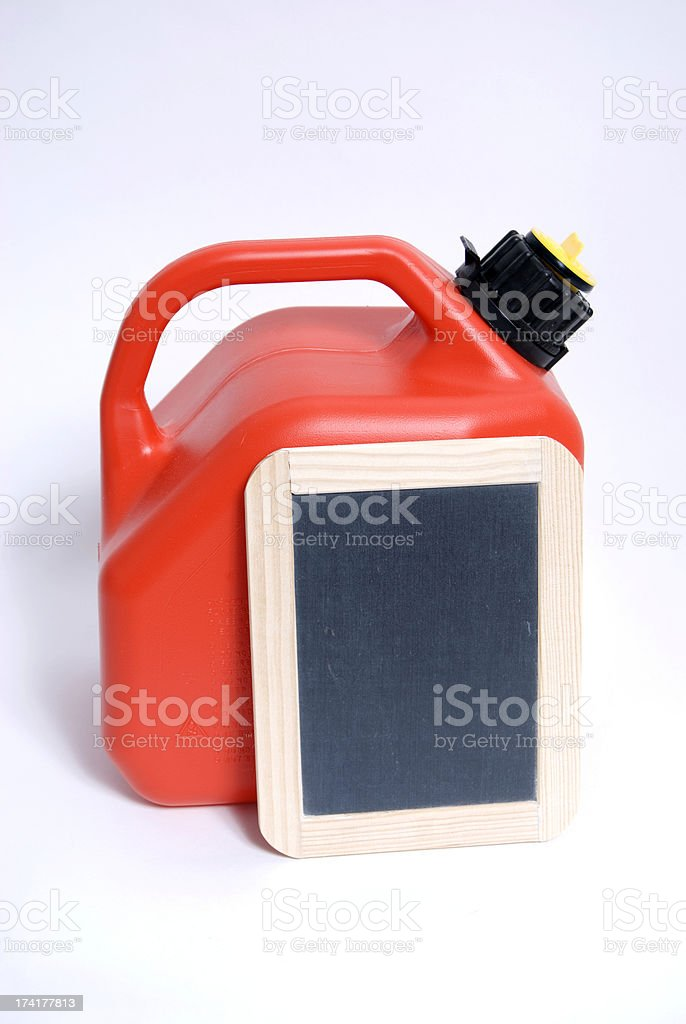 Gasoline Can stock photo