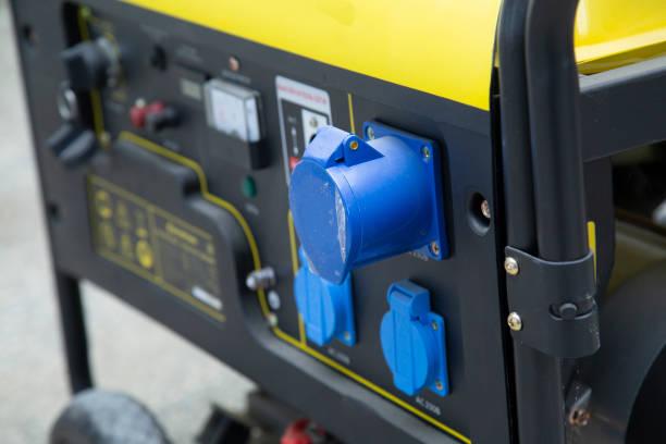 generador de gasolina - generadores fotografías e imágenes de stock