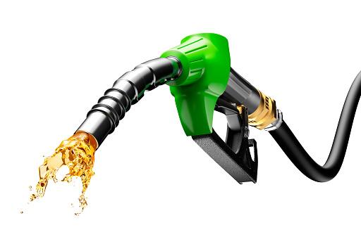 Benzin Sprudelnden Von Pump Stockfoto und mehr Bilder von 2015