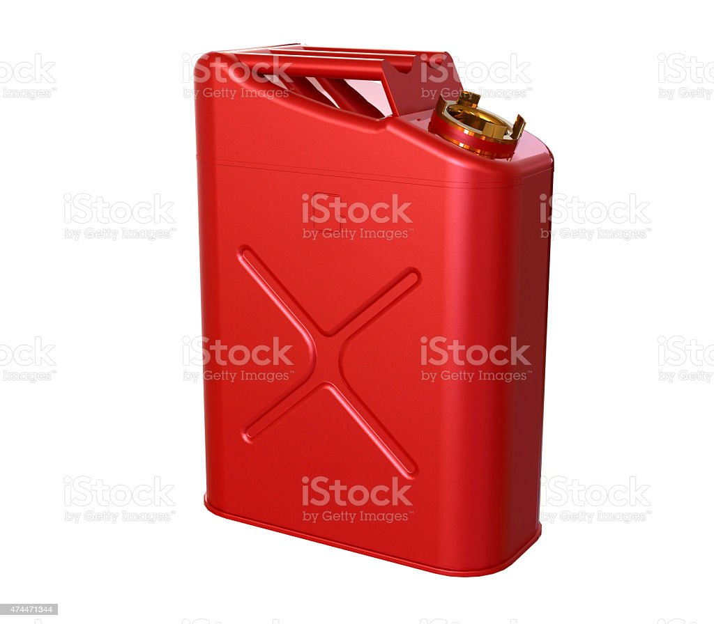 gasoline  jerry can stock photo