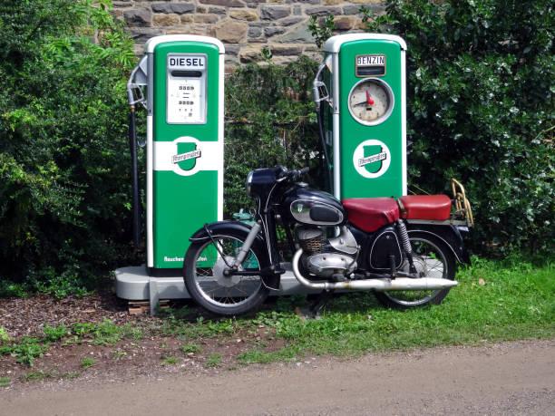 Gasoline or Diesel ? stock photo