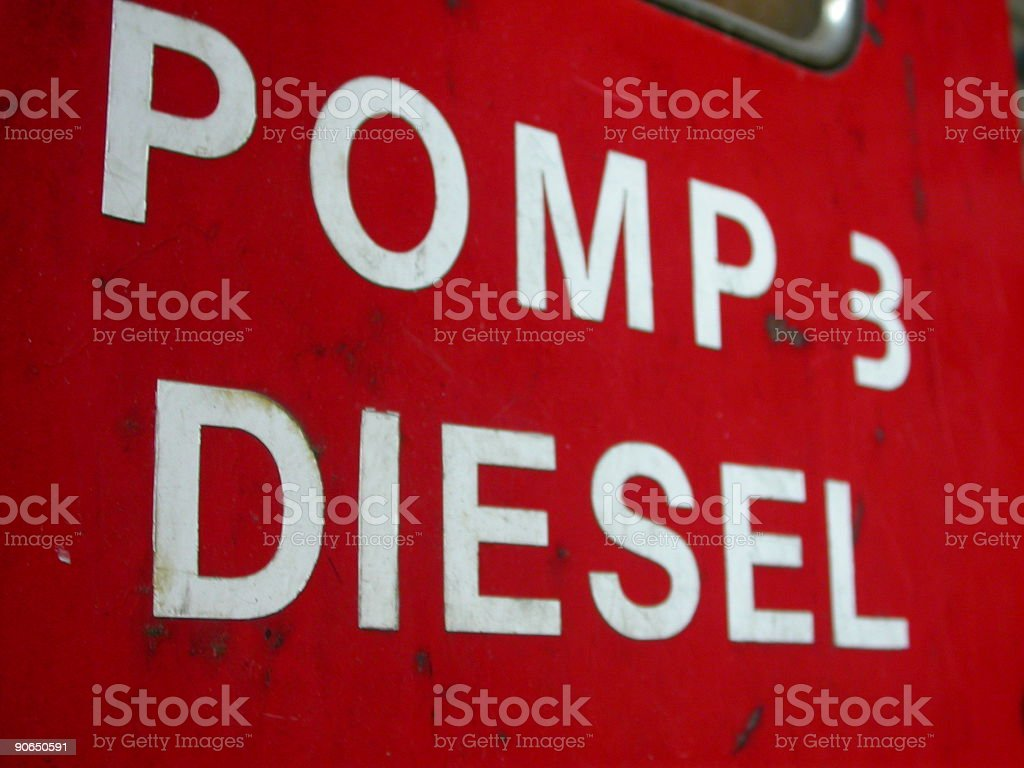 Gasoline Pump close stock photo