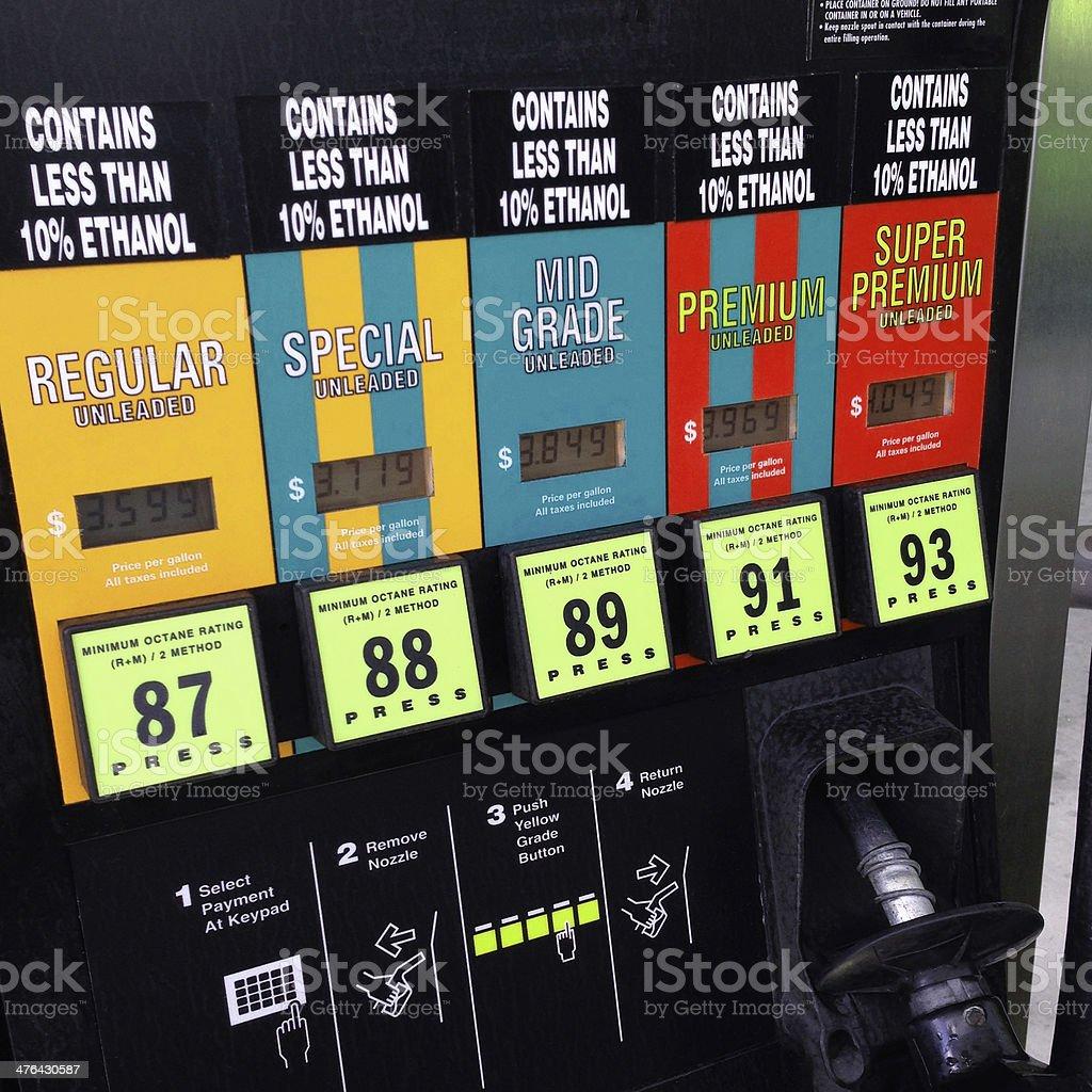 Gasoline Pump royalty-free stock photo