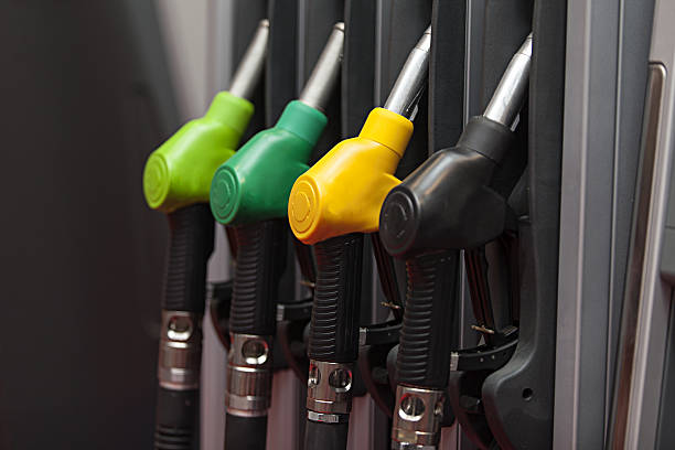 Gasoline pump four Gasoline pump biofuel stock pictures, royalty-free photos & images