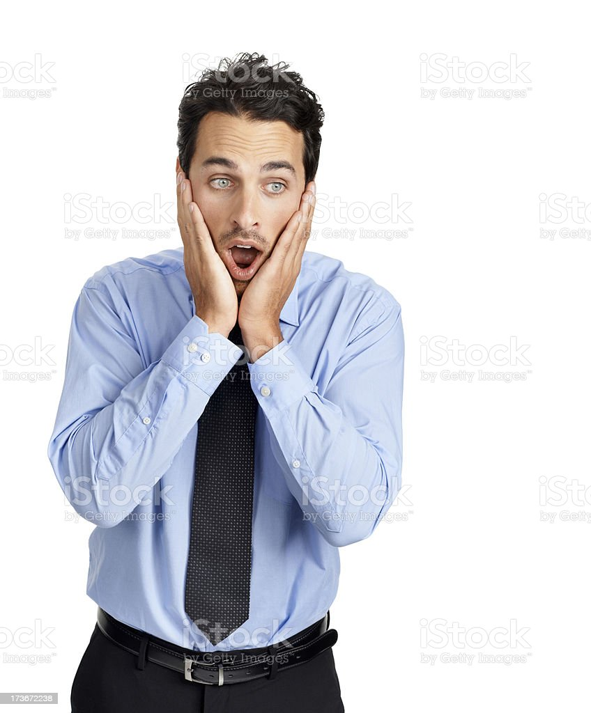 Gasp! That's awful! stock photo