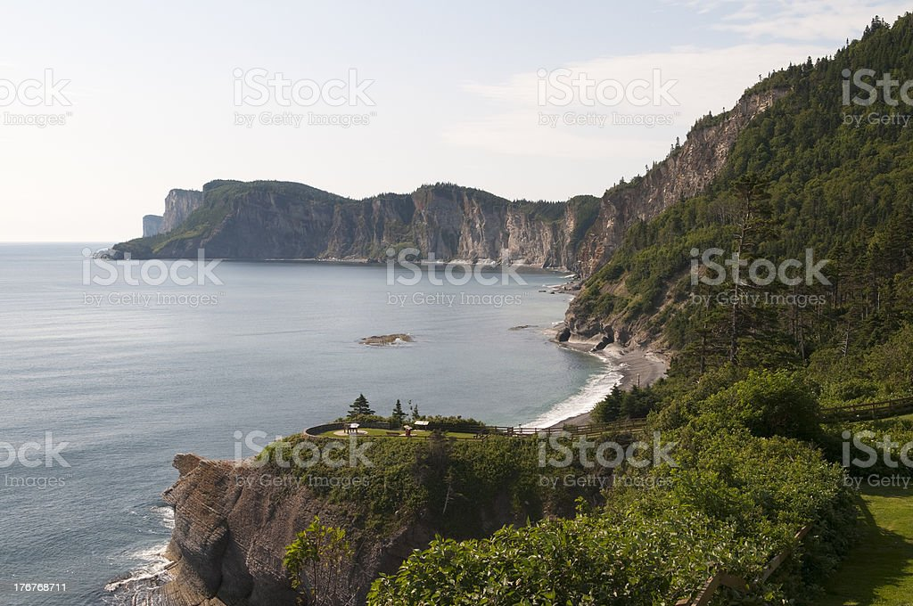 Gaspe Peninsula royalty-free stock photo