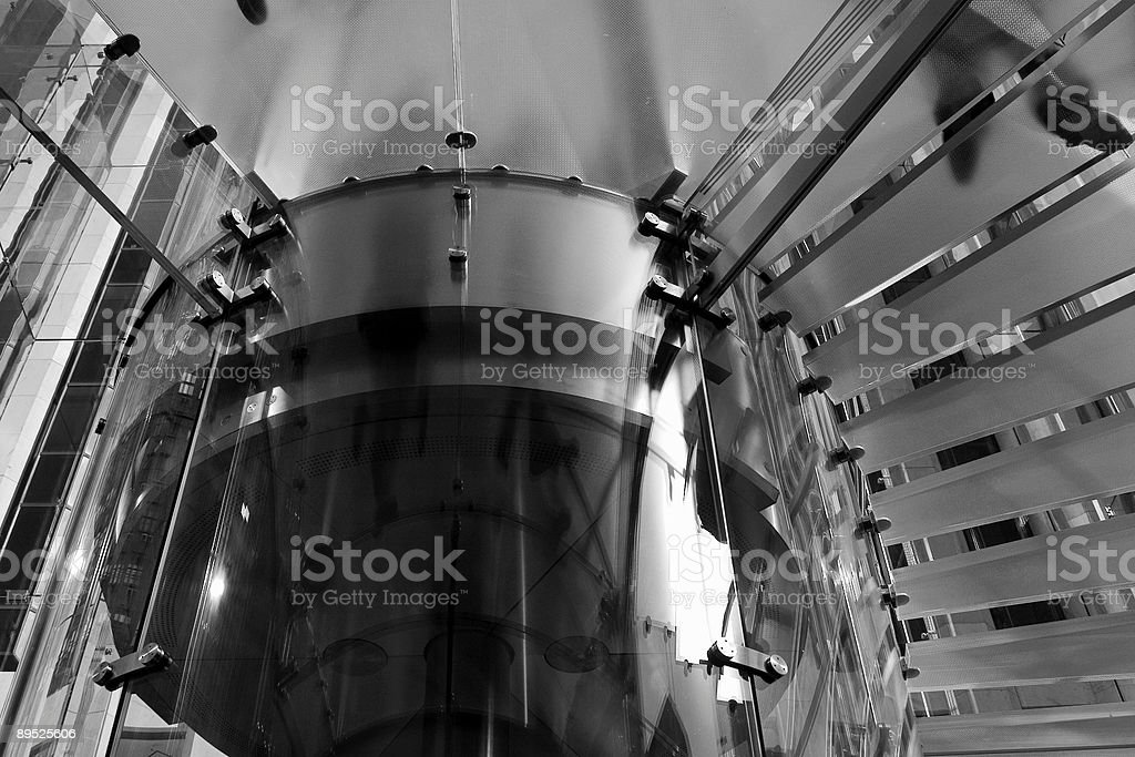 gass staircase royalty-free stock photo