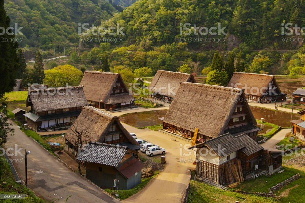 Gassho-zukuri des Villages historiques de Gokayama - Photo de Architecture libre de droits