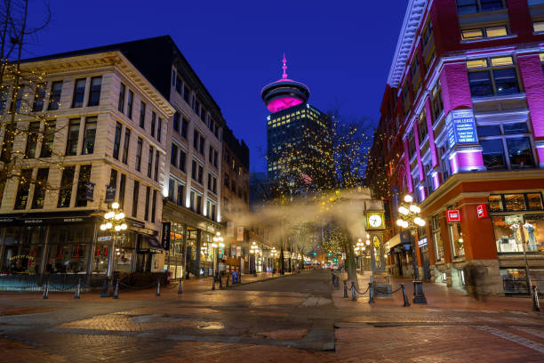 Gastown in Vancouver, British Columbia, Canada