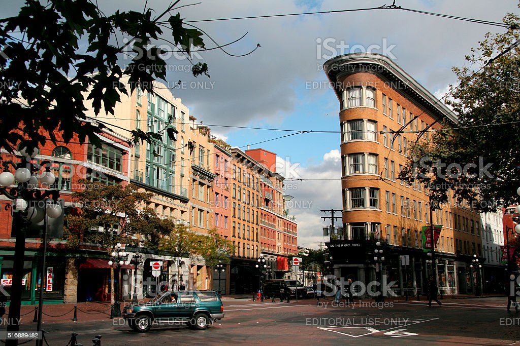 Gastown, Vancouver, British Columbia, Canada stock photo