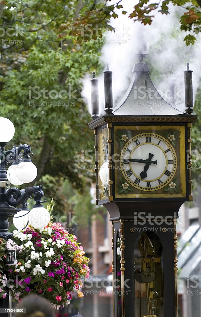 Gastown, Vancouver stock photo