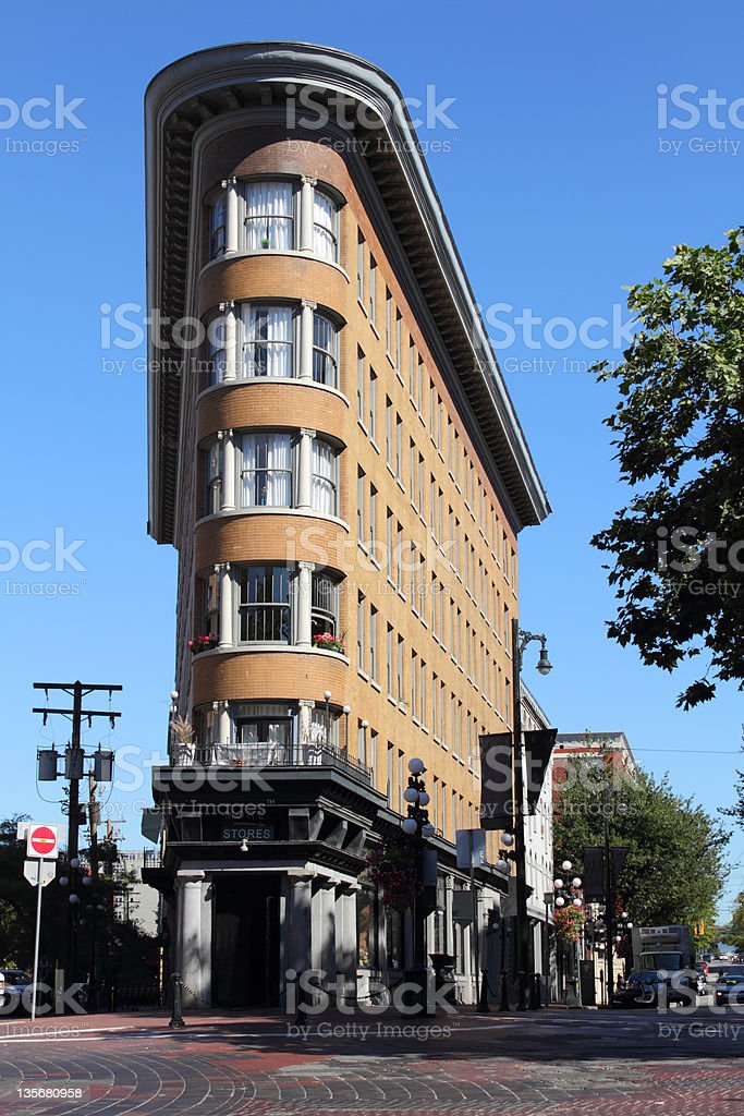 Gastown's Hotel Europe,  Vancouver stock photo