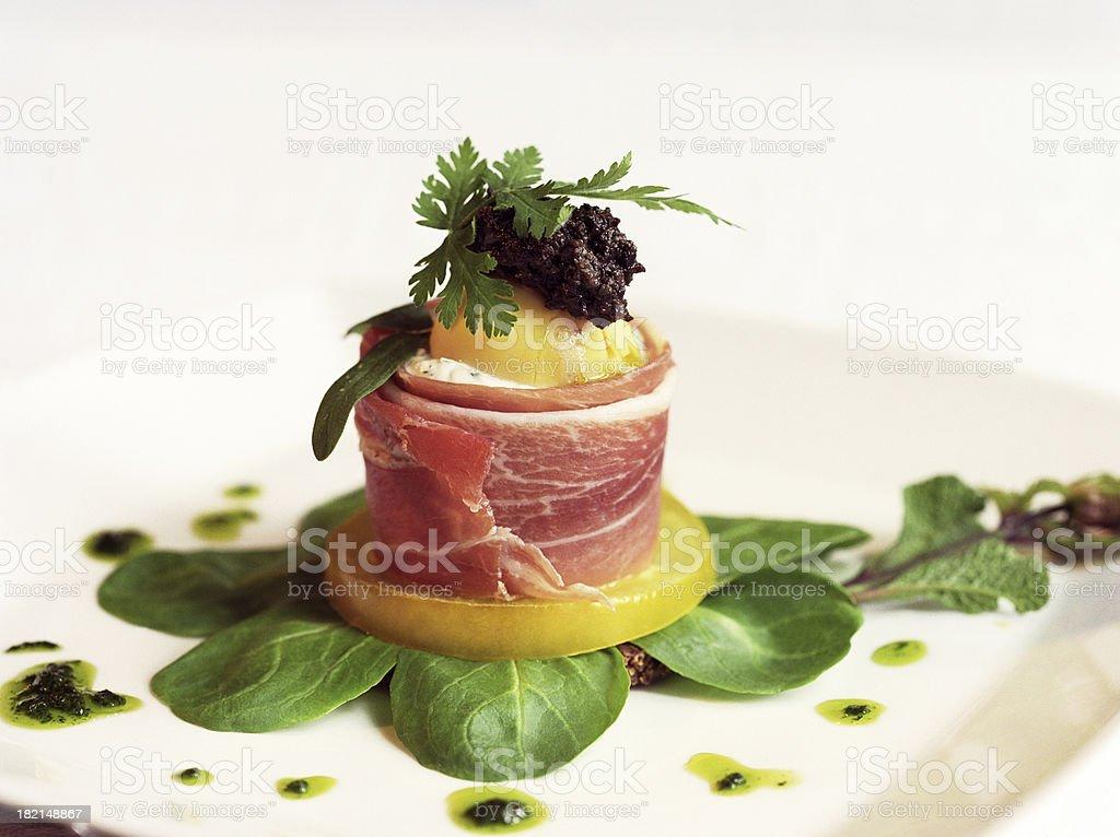 Gastronomy domine stock photo