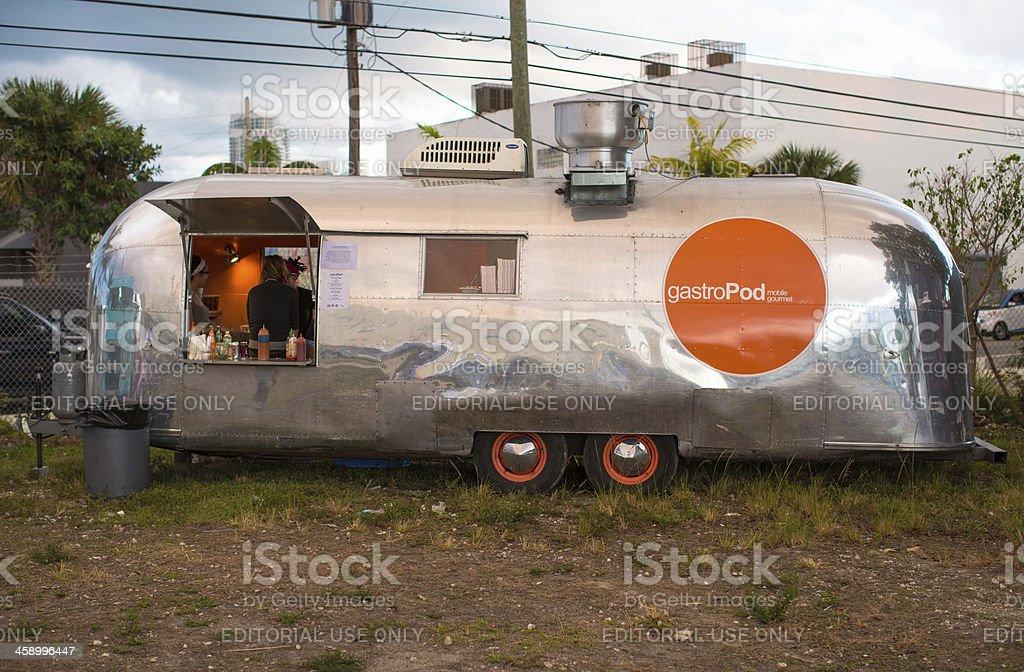 Gastropode gourmet food truck – Foto