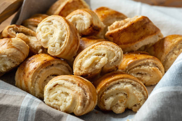 Gata, traditional armenian sweet pastry. Gata, traditional armenian sweet pastry. armenian culture stock pictures, royalty-free photos & images