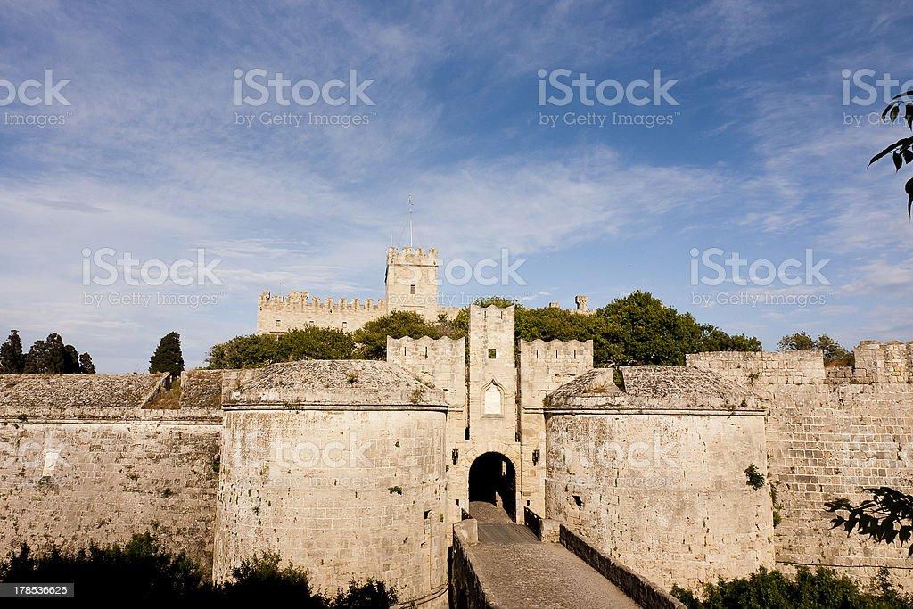 Gate d'Amboise stock photo
