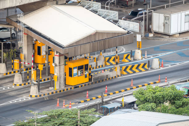 Gate for expressway fee payment in bangkok from skyscraper picture id687355688?b=1&k=6&m=687355688&s=612x612&w=0&h=bjfdmkwsxqzor eotzhrjy6s4rz8a3fggzr b44bubi=