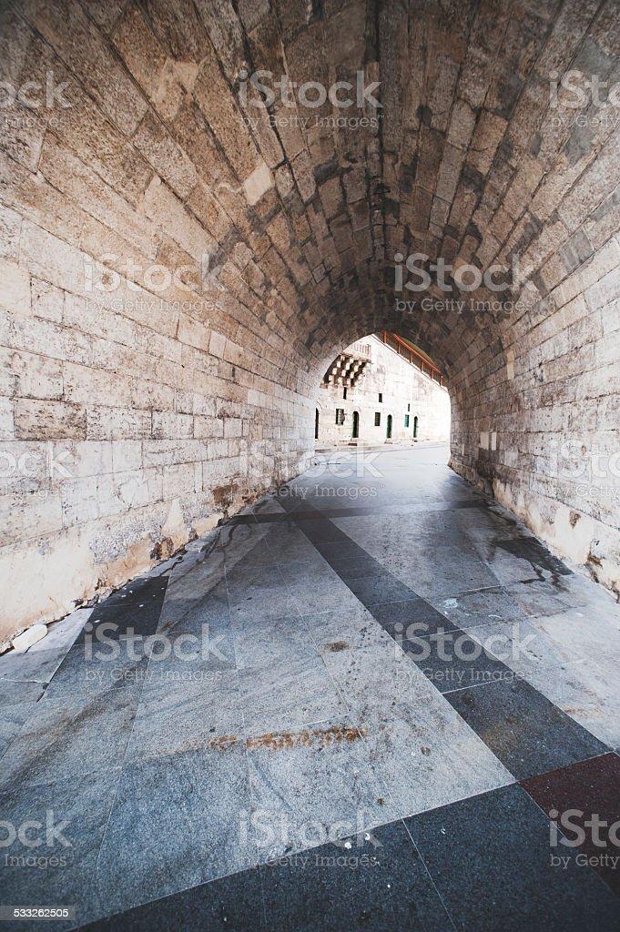 Gate Istanbul Turkey stock photo