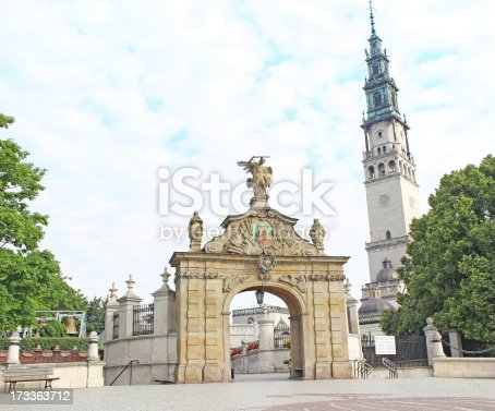 istock Gate Lubomirski at Jasna Gora in Poland 173363712