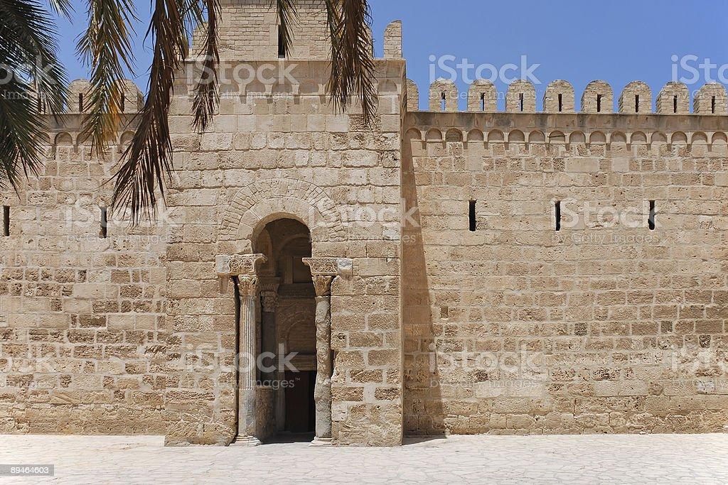 Gate of Ribat royalty-free stock photo