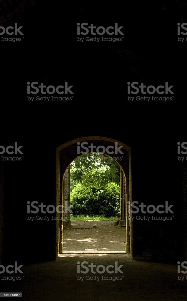 Gate royalty-free stock photo