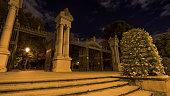Gate to Buen Retiro Park in Madrid