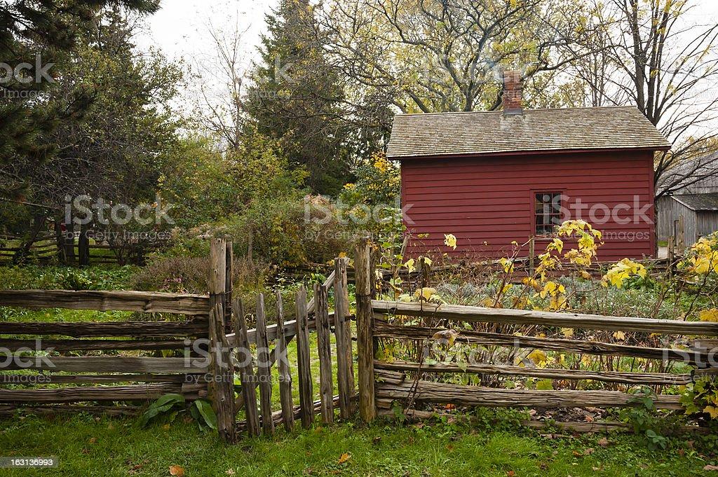 Gate to the Garden royalty-free stock photo