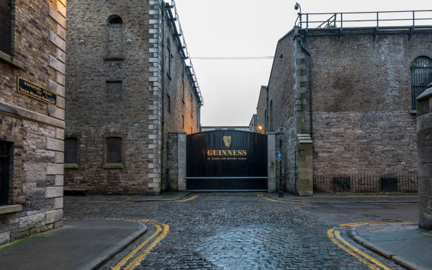 Gate to the Guinness Brewery, Dublin