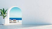 Gate to the sea view & Beach living - Santorini island style